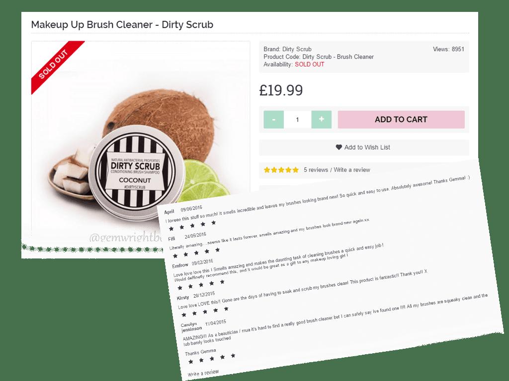 OpenCart reviews