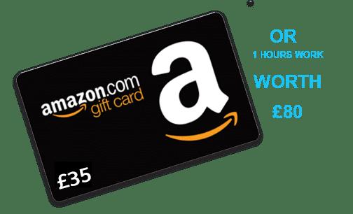 £35 Amazon Voucher