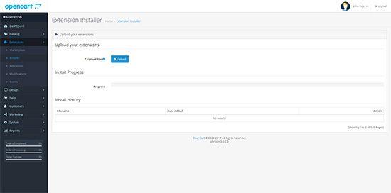 OpenCart 3 Installer